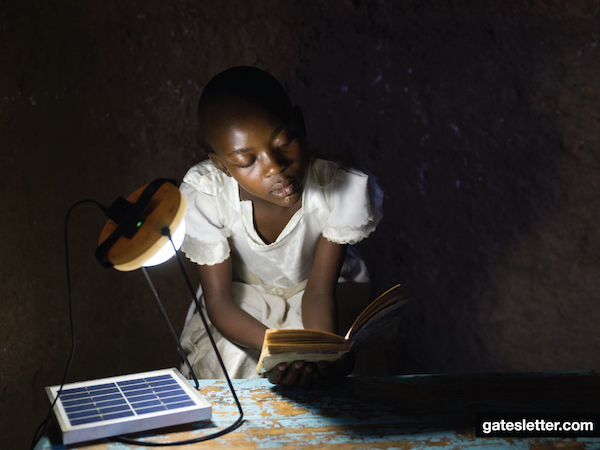 The 2016 Gates Letter: Time and energy to end extreme poverty