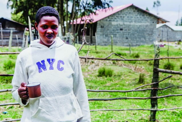 Meet Mary, who found out she was HIV positive during her first pregnancy