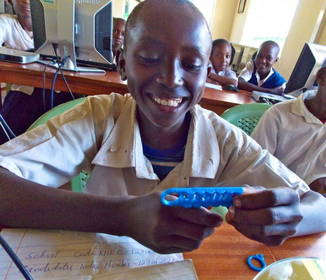 How 3D printing provides new modes of learning in rural Kenya
