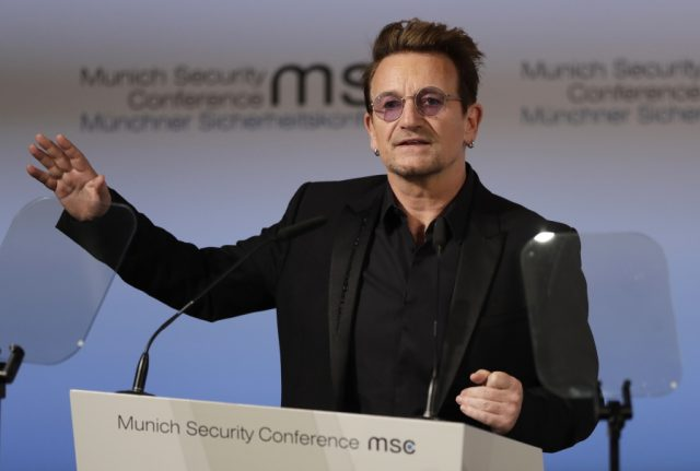 Bono at the Munich Security Conference: Security without development is unsustainable