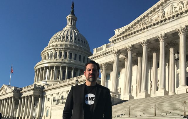 """""""Finding our voices:"""" An Oklahoma pastor on why he joined ONE and lobbied on Capitol Hill"""