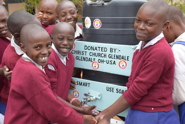 Installing hand-washing stations at these Kenya schools led to some amazing results