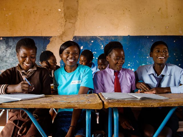 Alice nearly had to drop out—now she helps girls stay in school