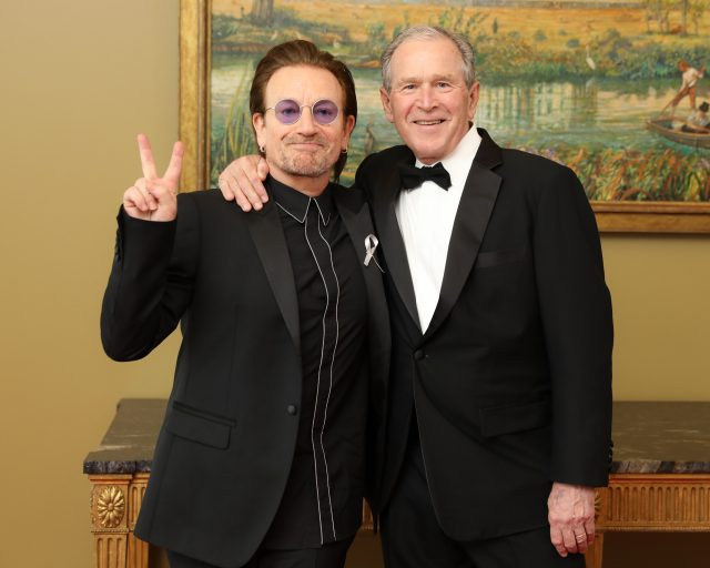 Bono and George W. Bush in Dallas: 5 must-see clips