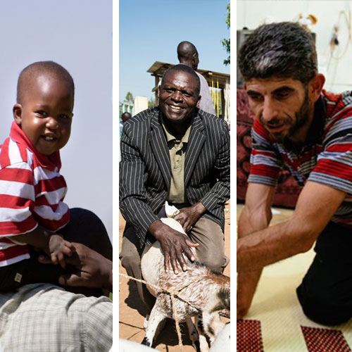 3 dads who are fighting to give their children a better future