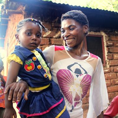 How good nutrition helps Ramiya's family thrive